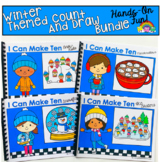 Winter Count And Draw Adapted Books Bundle