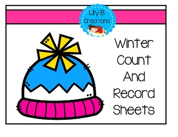 Winter Count And Record Sheets