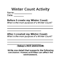 Winter Count- Assessment