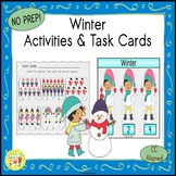 Winter Clip Task Cards