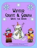 Winter Count & Graph: Write the Room