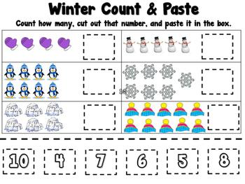Winter Count & Paste