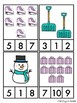 Winter Count and Clip Cards Numbers 1-10