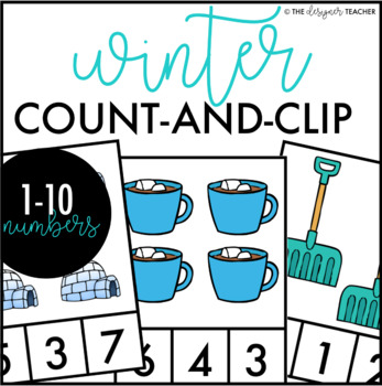 Winter Count and Clip Cards 1-10