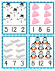 Winter Count and Clip Cards Numbers 1-12