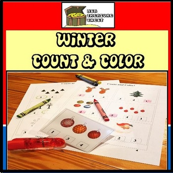 Winter Count and Clip, Count and Color