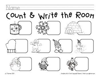 Winter Count and Write the Room