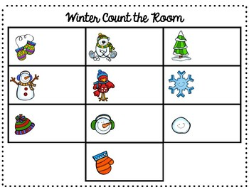 Winter Count the Room (11-20)