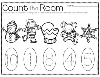 Count the Room for Little Learners (Winter Edition)