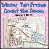 Winter Ten Frame Count the Room (numbers 10-20)