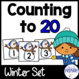 Numbers 1-20: Winter