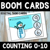Winter Counting 0-10  Boom Cards -  Snowman PreK Boom Cards