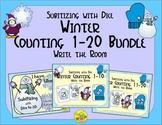Winter Counting 1-20 Bundle {Subitizing with Dice}
