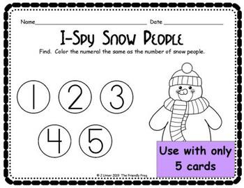 Winter Counting 1-5 (Write the Room for Beginners)
