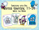 Winter Counting 11-20 {Subitizing with Dice}