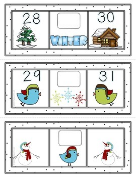 Winter Counting 1-30