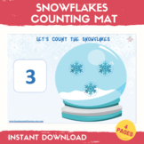Winter Counting Activity Count to 10 Math Center Activitie