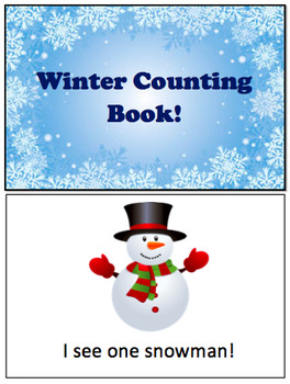 Winter Counting Book