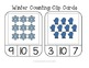 Winter Counting Frame Clip Cards