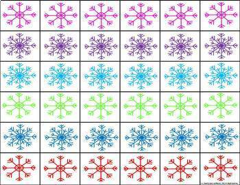 Winter Counting Game {FREE}