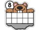 Groundhog's Day Counting Mats 1-10 --- Groundhog Counting Mats with Tens Frames