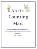 Winter Counting Mats, Flashcards, & Ten Frames Common Core