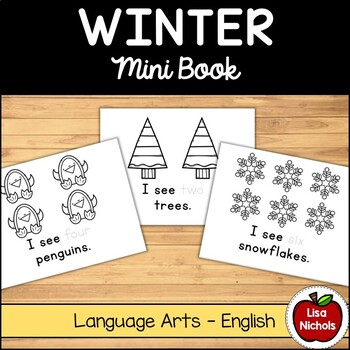 Winter Counting Mini Book (I see/There are/Here are) EN