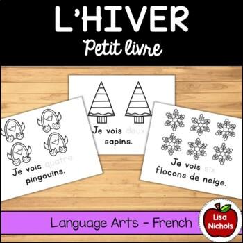 Winter Counting Mini Book (Voici/Je vois/Regarde) FR