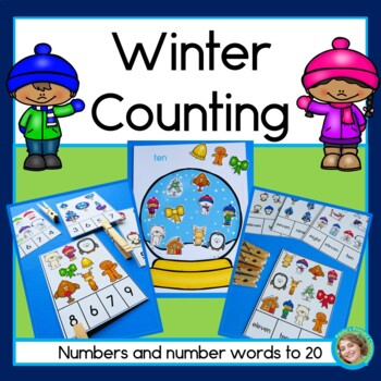 Winter Counting - Numerals and Number Words 1-20