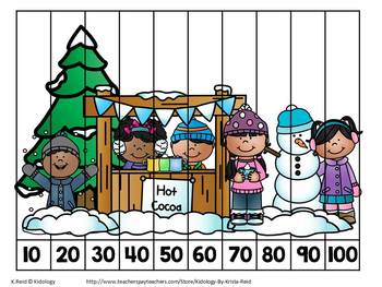 Winter Number Activities