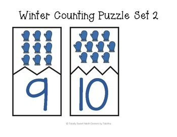 Winter Counting Self-Checking Puzzles