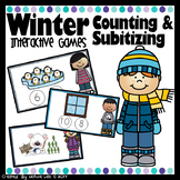 Winter Counting & Subitizing - PowerPoint Games