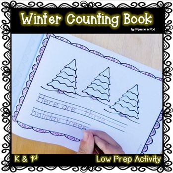 Writing Numbers in Word Form Winter mini book