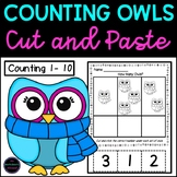 Counting and Ordering to 10 Cut and Paste {Winter}
