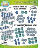 Winter Counting and Ten Frames Math Clipart {Zip-A-Dee-Doo-Dah Designs}