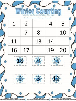 Winter Counting to 10 and 20