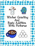 Winter Counting (up to 10) and Basic Addition (sums up to 20)