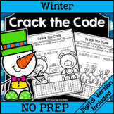 Winter Crack the Code | Printable & Digital