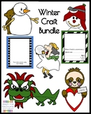 Winter Craft Bundle for Kindergarten