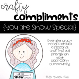 Winter Craft {Crafty Compliments January} Snow Globe Craft