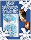 Winter Craft! How to Make SNOW SLIME!
