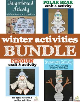 Winter Craft and Activity Bundle
