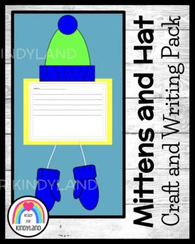 Winter Craft and Writing: Hats and Mittens