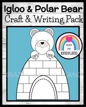 Winter Craft and Writing: Polar Bear & Igloo