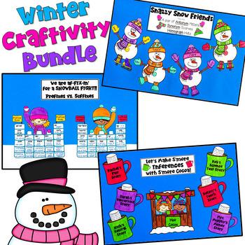 Winter Craftivity BUNDLE