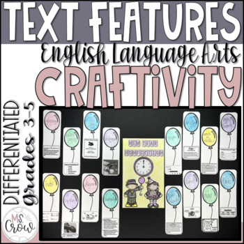 Winter Craftivity New Year Nonfiction