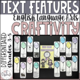New Year Craftivity Nonfiction Text Features