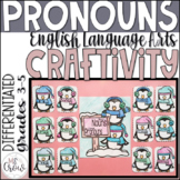 Winter Craftivity ~Penguin Pronouns~