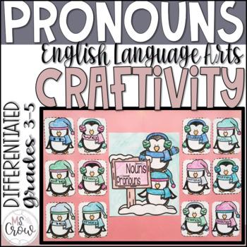 Winter Craftivity ~Penguin Pronouns~