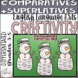 Winter Craftivity Snowman Superlatives